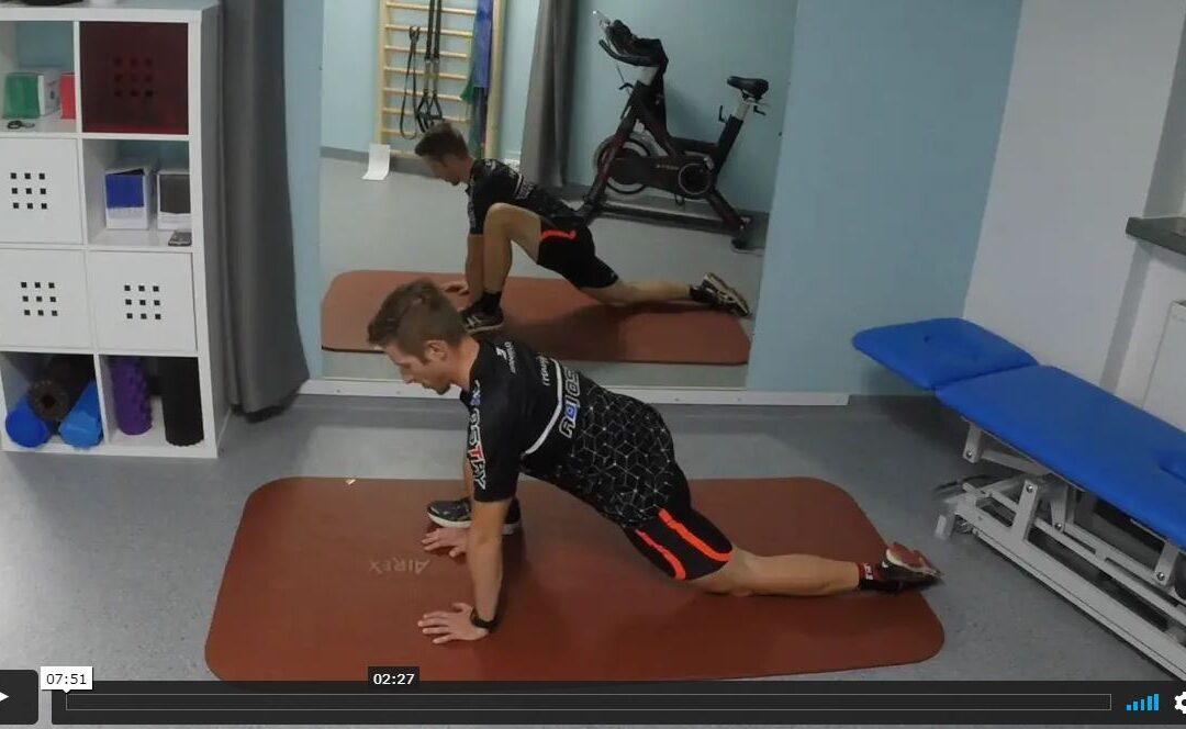 Mobility i core trening w domu